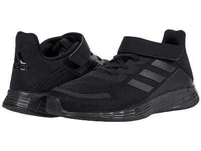 adidas Kids Duramo SL (Little Kid) (Core Black/Core Black/Glory Grey) Boys Shoes
