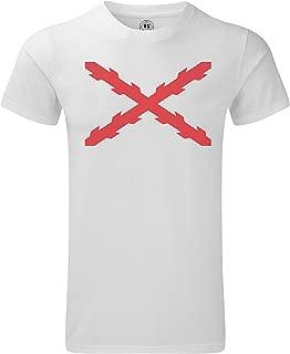 Camiseta Cruz de Borgoña/San Andrés en sublimación (XXL): Amazon ...