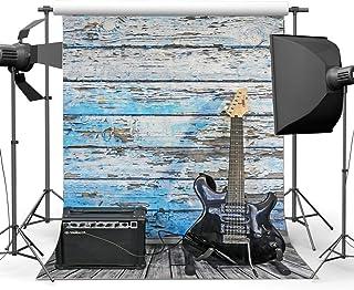 MMPTn 8x6ft Photographie Fond Vitesse Racing Toile Fond Joyeux Anniversaire Jeu Excitant Damier Drapeau Voiture Tableau Bord Heavy Metal Papier Peint Cowboy Baby Shower Photo Portrait Vinyle Studio