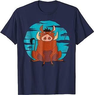 The Lion King Happy Pumbaa T-Shirt
