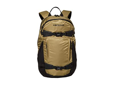 Burton Day Hiker 25L Backpack (Martini Olive Flight Satin) Backpack Bags