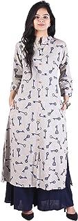 OM KALYANAM Women's Rayon Salwar Suit