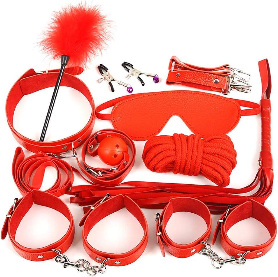Bed Restraints Set Bondage with Strap Flogger Max 70% OFF Blindfold Cross SM Sale