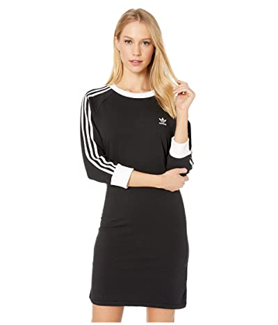 adidas Originals 3-Stripes Dress (Black 2) Women