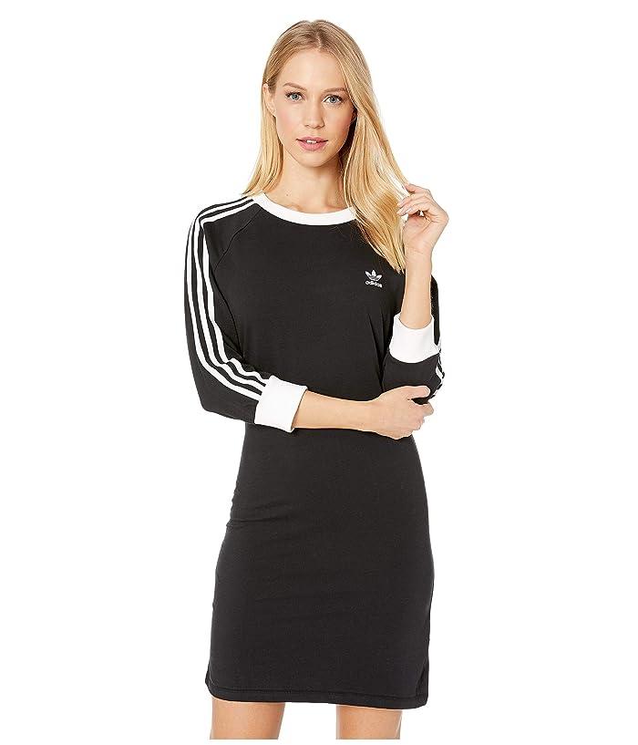 adidas Originals 3-Stripes Dress (Black 2) Women