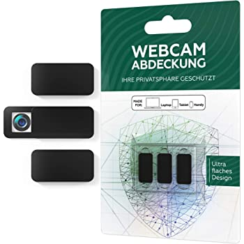 ANYOYO Webcam Abdeckung// 0.7mm Thin Webcam Cover//Anti-Spionage /& Privatsph/äre Schutz Kamera Sticker//Webcam Cover f/ür Computer Tablet uvm//Ultra d/ünnes Design//3er Set schwarz Smartphone Laptop