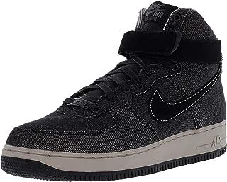 Women's Air Force 1 Hi Se Black/Dark Grey Cobblestone High-Top Leather Basketball Shoe - 10M