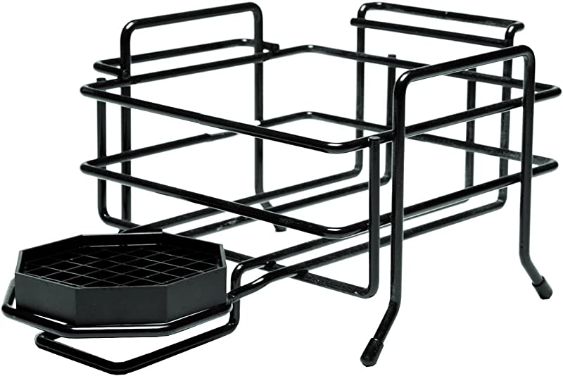 Service Ideas AWRS1BL Airpot Rack Wire 1 Station Short