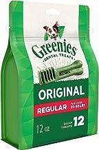 Greenies Dental Treats for Regular Dog, 12 treats, Adult, Small/Medium/Large