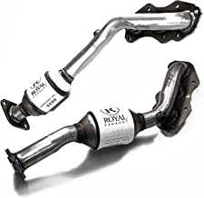Catalytic Converter 2Piece Bundle compatible with 2006 Lexus GS300 AWD 3.0L | 2006-2008 IS250 RWD 2.5L | Right+Left Side Manifold