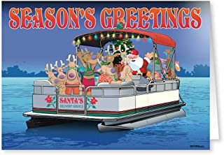 Best pontoon boat christmas cards Reviews