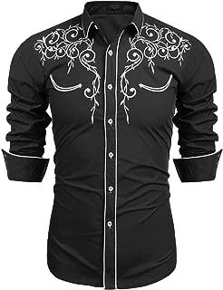 Best buckle black mens shirts Reviews