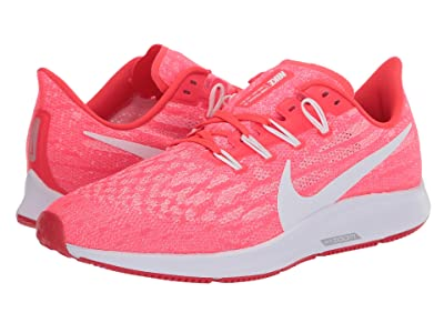 Nike Air Zoom Pegasus 36 (Laser Crimson/White/Platinum Tint) Women