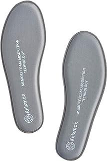 Knixmax Plantillas Memory Foam para Zapatos de Mujer,