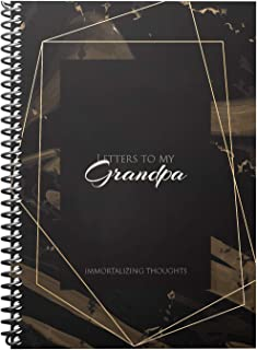 Journal to My Grandpa: Memory Grandparents Book, Grandfathers Memories Story, Grandchild Book for Birthday Grandparent, 6x...