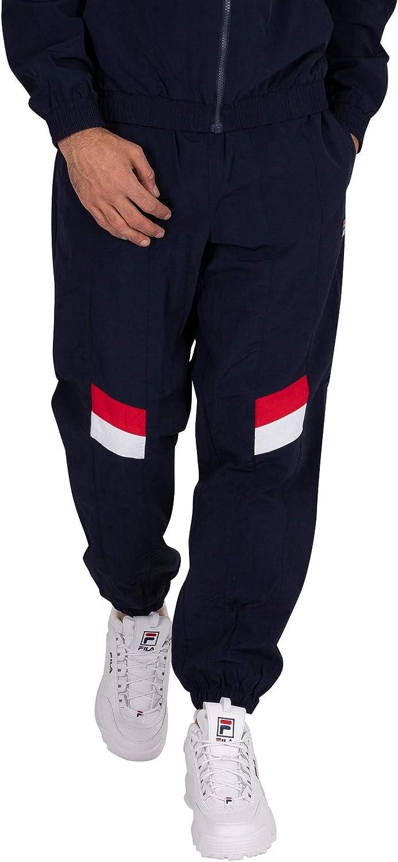 Fila 正規認証品!新規格 Men's Zaim Cut Sew Blue Joggers Track 《週末限定タイムセール》