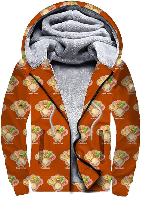 D-WOLVES Men's Fleece Hoodies Full Mesa Mall Hooded Winter Zip Sweatshirt Some reservation