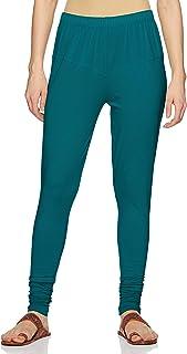 Lux Lyra Women's Leggings Silk_69_Peacock_Free Size