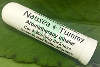 Urban ReLeaf NAUSEA & TUMMY Aromatherapy Inhaler! Relief Car, Morning Sickness, Chemo Queasiness, Bad Belly, Migraine Quease, Medication illness! Inhale Deeply for fast relief. 100% Natural, Drug Free