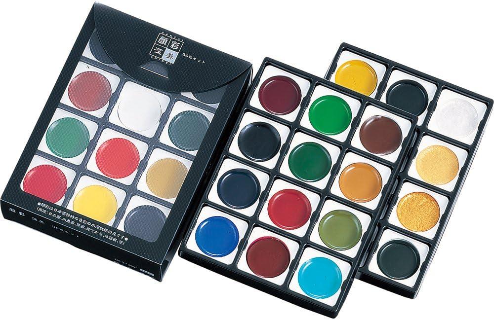 36 colors set