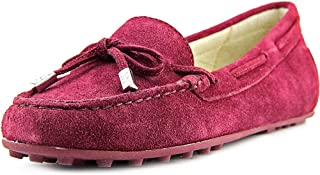 8a5544988db1 Michael Michael Kors Daisy Moc Women US 5.5 Burgundy Loafer
