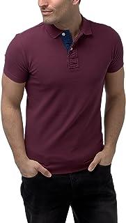 Charles Wilson Men's Contrast Placket Polo Shirt