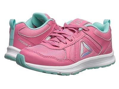 Reebok Kids Almotio 4.0 (Little Kid/Big Kid) (Pink/Blue) Girls Shoes