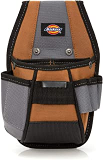 Dickies 57099 4-Pocket Rigid Tool Pouch with Tape Clip