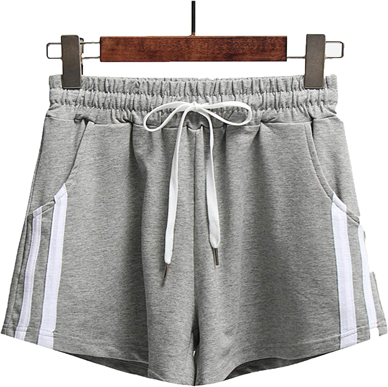 Mulanda Women's Sport Finally popular brand Shorts with Bargain sale Running Workout Cotton