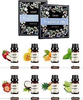 Elite99 Aceites de Fragancia Aceites Esenciales para Humidificadores Aceites de Aromaterapia de Frutas Manzana Mango ...