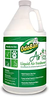 OdoBan 977462-G RTU Air Spring Fresh Liquid Air Freshener, 1 Gallon Bottle