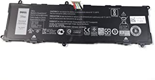 HFRC3 Replacement Battery For Dell Venue 11 Pro 7140 Tablet Rechargeable Li-Po 38Wh 7.4V 50.50Ah TXJ69 0HFRC3 CN-0HFRC3 2H2G4