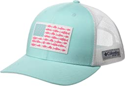 PFG Mesh™ Snapback Fish Flag Ball Cap