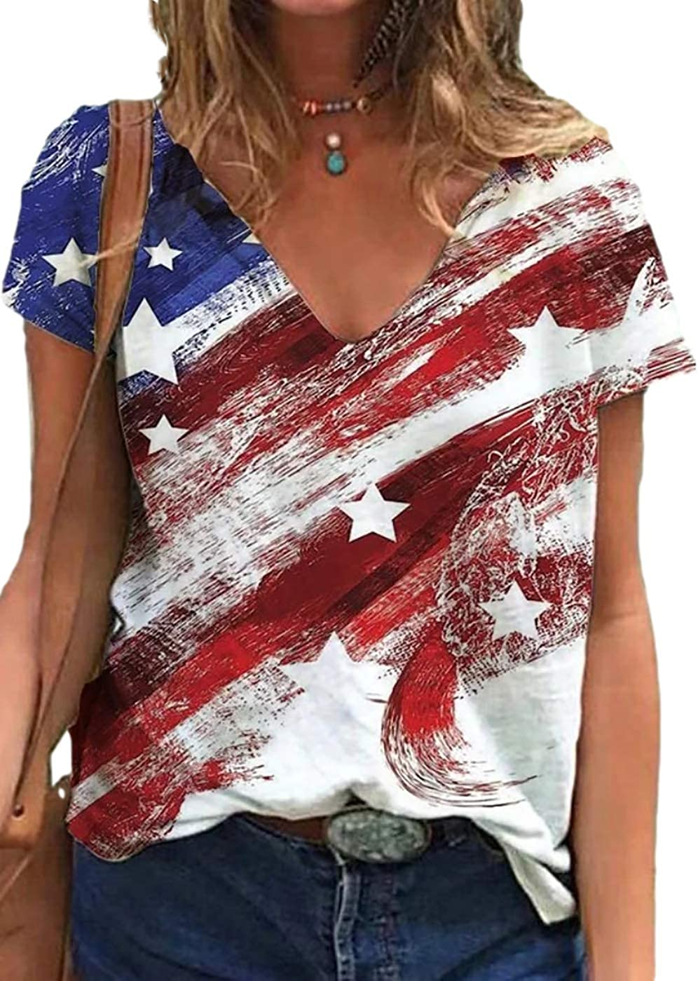 Max 88% OFF Women's Tie free shipping Dye Mom T-Shirts Casual Short Letter Tee Tops Sleeve