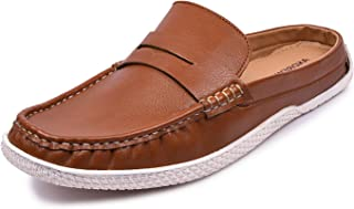 Andrew Scott Men's Leather Casual Loafers