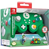 Nintendo Switch Super Mario Bros Wired Fight Pad Pro Controller (Green)