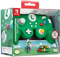 Nintendo Switch Super Mario Bros Luigi GameCube Style Wired Fight Pad Pro Controller by..