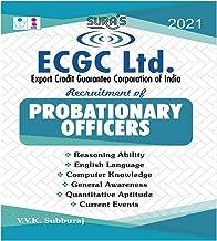 ECGC Ltd Export Credit Guarantee Corporation Of India Probationary Officers PO Exam Books