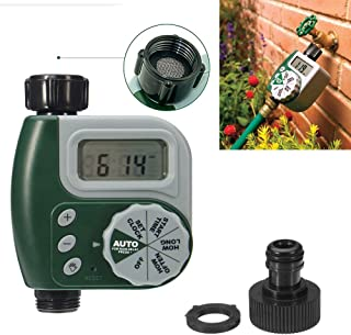 Outdoor Garden Hose Sprinkler Irrigation Controller Solenoid Valve Timer