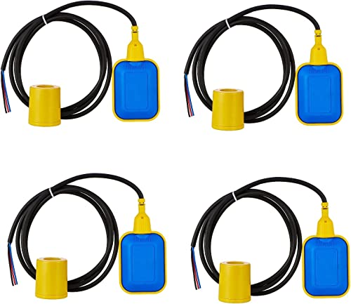 Scientific Devices Cable Float Level Switch 2 Meters Cable Length - Pack of 4
