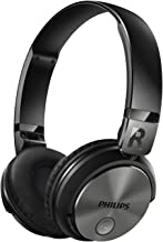 PHILIPS sealed wireless headphone On'iya/Bluetooth correspondence/NFC support/remote control with microphone/folding SHB3185BK Black