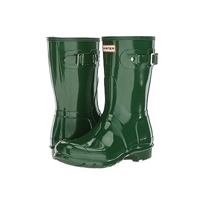 Hunter Original Short Gloss Rain Boots (Hunter Green) Women