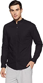 Diverse Men's Solid Slim Fit Casual Shirt