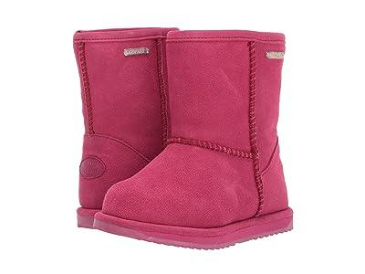 EMU Australia Kids Brumby Lo (Toddler/Little Kid/Big Kid) (Berry) Girls Shoes