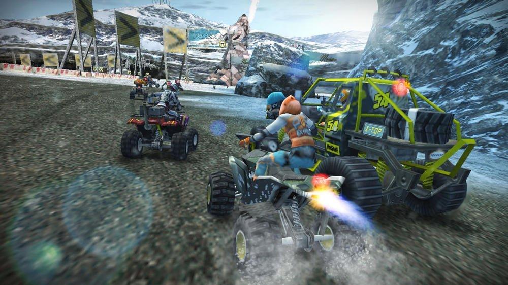 Console PSP Street (E1004 noire) + Motor Storm : Arctic Edge - collection essentielles + GTA : Liberty City stories - collection essentielles