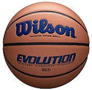 Wilson WTB0595XB0602 Evolution Size Game Basketball-Navy, Brown, Intermediate