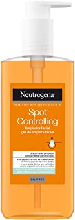 Neutrogena Spot Controlling Gezichtsreinigingsgel, met salicylzuur voor acne huid, 200 ml