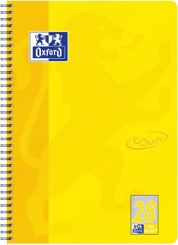 Cuaderno Oxford Collegeblock Touch A4 por sólo 5,47€