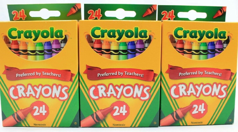 Crayola New Max 86% OFF York Mall Crayons Bundle Pack 3