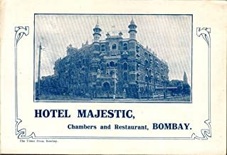 Hotel Majestic, Chambers and Restaurant, Bombay Advertising Piece
